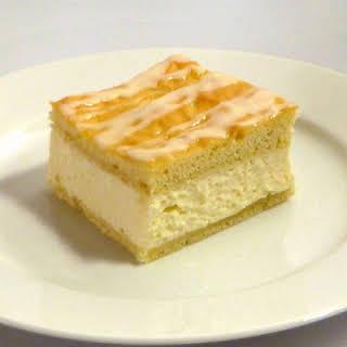 Sweet Bread Cheesecake.