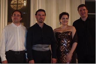 Photo: Halbturner Schlosskonzerte 2015 am 8.8. , Mit Anna Ryan, Sergio Tallo-Torres und Russi Nikoff und Pavel Kachnov. Foto: Herta Haider