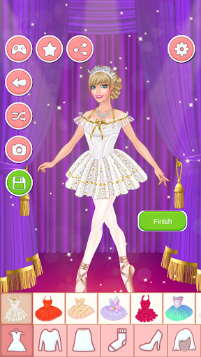 Ballerina Dress Up Games