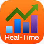 Real Time Stocks Track & Alert Icon