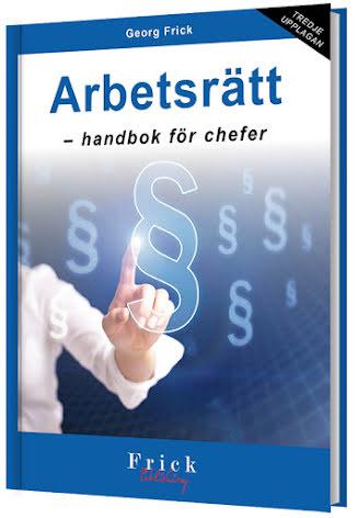 Arbetsrätt - handbok för chefer
