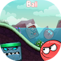 Red Ball : Bouncing 4 Adventure‏ Hero icon