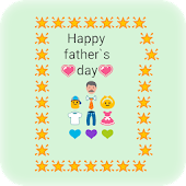 Fathers Day Art-Emoji Keyboard