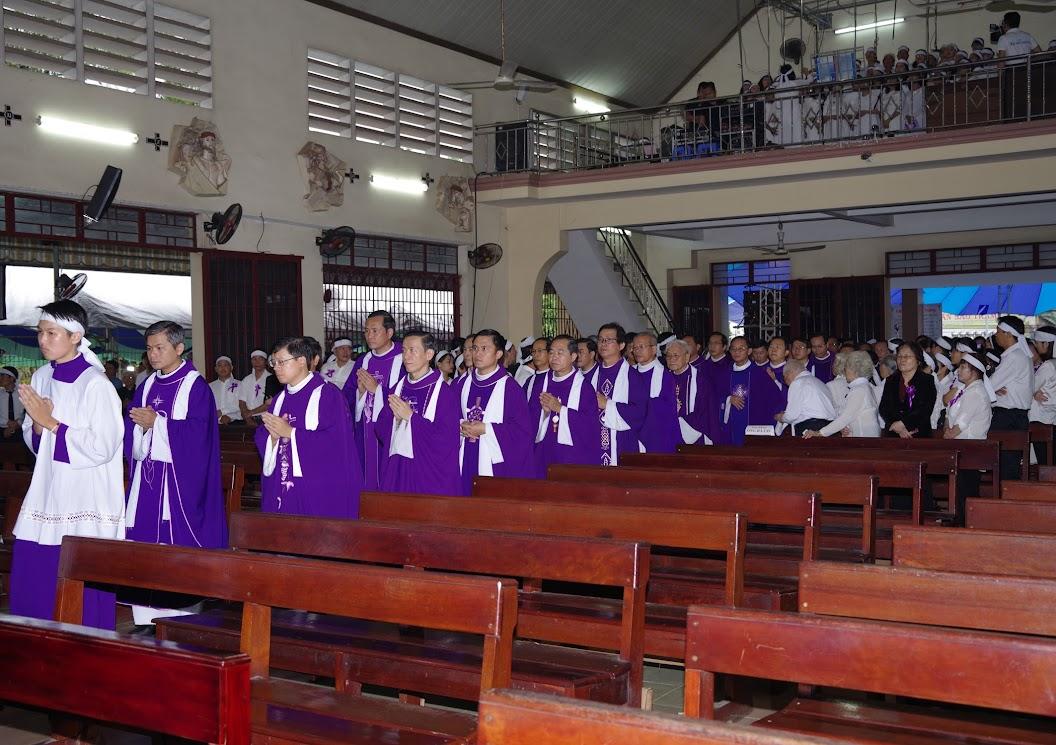 Thánh lễ an táng Cha Giuse Trần Ngọc Tâm - Chánh xứ Xuân Đức - Ảnh minh hoạ 10