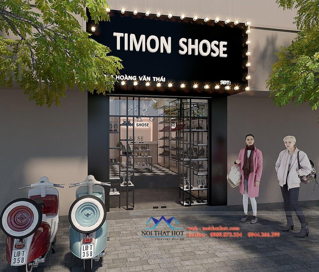 thiết kế shop giày dép timon 1
