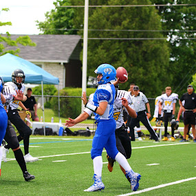 by Patrick Cloutier - Sports & Fitness American and Canadian football
