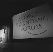 """Photo: DAVOS/SWITZERLAND, JAN 1987 - Klaus Schwab addressing the Opening Session of the Annual Meeting of the World Economic Forum in Davos in 1987.Copyright <a href=""""http://www.weforum.org"""">World Economic Forum</a> (<a href=""""http://www.weforum.org"""">http://www.weforum.org</a>)"""