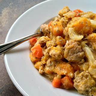 Turkey Butternut Squash Stew.