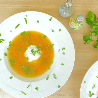 Yellow Taxi Tomato Soup