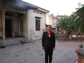 """Photo: """"Ms.Nguyễn Thị Liên 1. Số hiệu(ID member): 15011883 2. Tuổi(Age): 43 3. Địa chỉ(Address): Cụm 26 - Thôn Bảo Chúc - TT Hợp Hòa,Tam Duong District, Vinh Phuc province, Vietnam. 4. Mô tả gia đình (Household's information): Gia đình TV có 06 khẩu, 03 lao động chính. TV làm hàng mã bán, chồng TV đi xây, 05 sào ruộng, không chăn nuôi (Member's family has 06 people, 03 main labors. Member makes joss paper for business, her husband works as a mason, family owns 05 poles of farmland, excluding animal husbandry) 5. Ngày vay(Date of loan): 01-01-2015 6. Mức vay(Loan size): 8.000.000đ 7. Mục đích(Loan purpose): Chăn nuôi/livestock farming"""""""