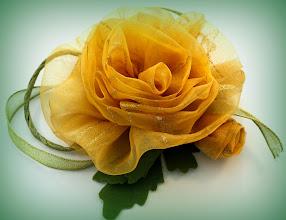 """Photo: Святая простота"""" -цветы из ткани своими руками - цветоделие, Татьяна, Самара"""