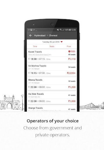 AbhiBus - Online Bus Ticket Booking, Hotel Booking 3.4.1 screenshots 2
