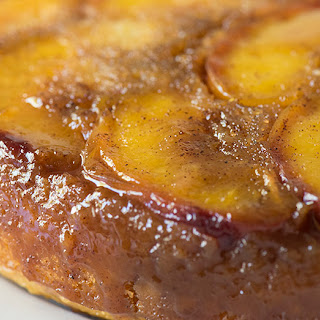 Peach Upside Down Coffee Cake
