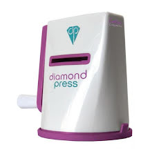 Crafters Companion Diamond Press Purple Die Cutting Machine UTGÅENDE