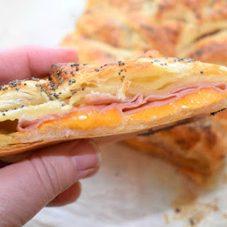 Ham and Cheese Breakfast Braid