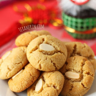 Grain-free Chinese Almond Cookies –  Gluten-free, Paleo and Vegan.