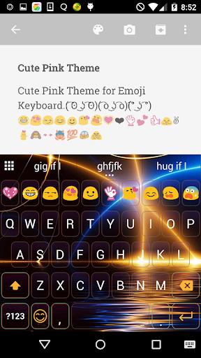 Light Wave-Emoji Keyboard