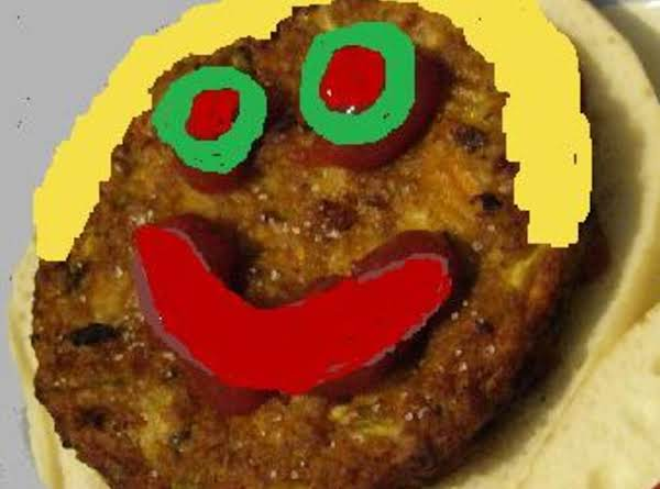 Smiley Face Hamburgers For Kids Recipe