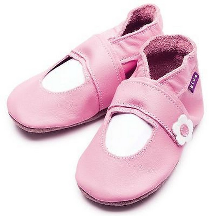 Inch Blue Soft Sole Leather Shoes - Mary Jane Pink (6-12 months)