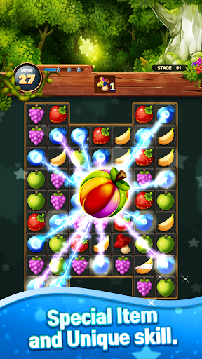 Sweet Fruit POP : Match 3 Puzzle apkmr screenshots 20