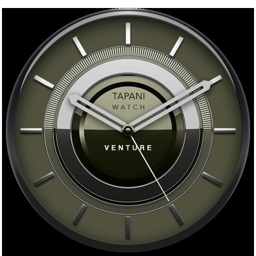 VENTURE Designer Clock Widget