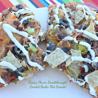 Loaded Nacho Flat Breads!