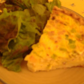 Bacon, Scallion, and Fontina Quiche