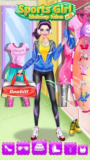 ud83dudc67ud83dudc57Sports Girl Makeup - Keep Fit  screenshots 21