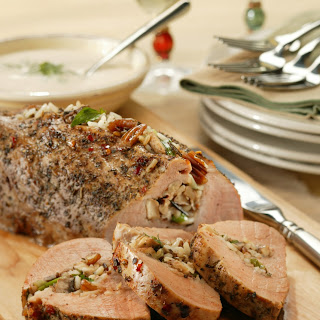 Italian-Stuffed Pork Tenderloin Recipe