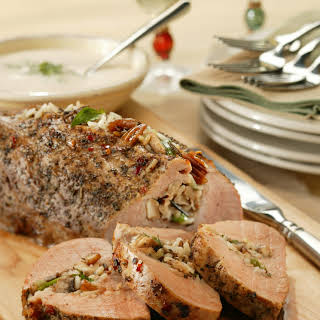 Italian-Stuffed Pork Tenderloin.