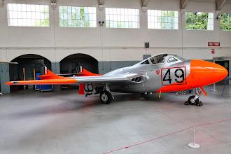 Photo: De Havilland Vampire T11
