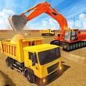 Heavy Excavator Construction Simulator: Crane Game icon