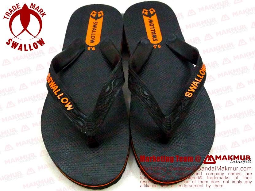 Sandal Jepit Swallow Black Pearl Bandung