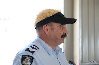 Photo: Jim wearing my hairy cap