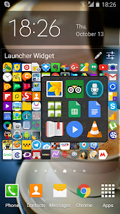 Launcher Widget- screenshot thumbnail