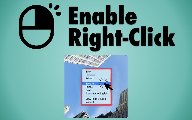 Enable Right Click
