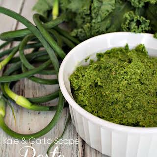 Kale & Garlic Scape Pesto.
