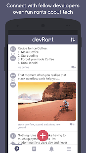devRant- screenshot thumbnail