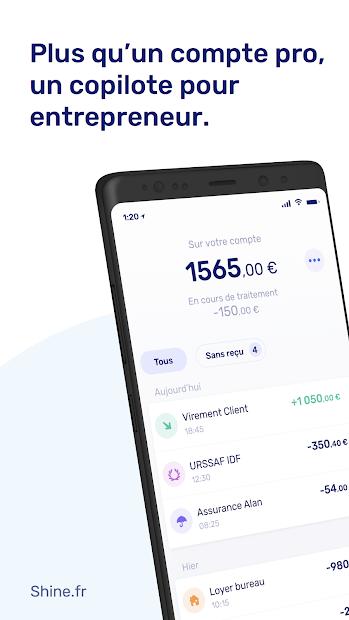 Shine Android App Screenshot