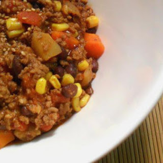 Asian-Style Spicy Beef Chili