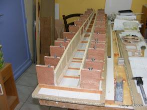Photo: Flancs dans le chantier