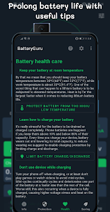 BatteryGuru v1.8.9.5 MOD APK – Battery Monitor – Battery Saver 4