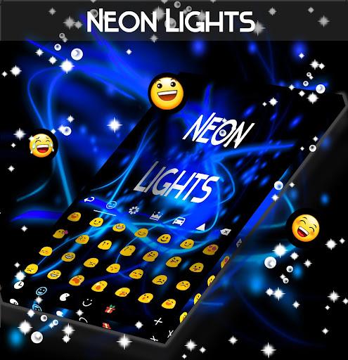 Luces de neón Keyboard Aplicaciones (apk) descarga gratuita para Android/PC/Windows screenshot