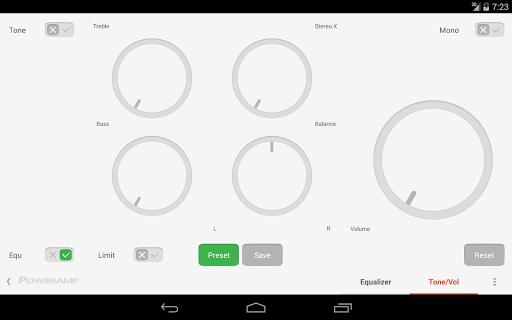 Skin for Poweramp Suru  screenshots 16