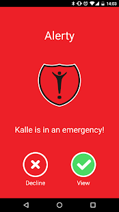 Alerty Personal alarm - náhled