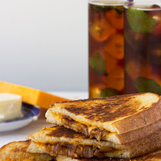 Apple Cider Vinegar Caramelized Onion Grilled Cheese Recipe