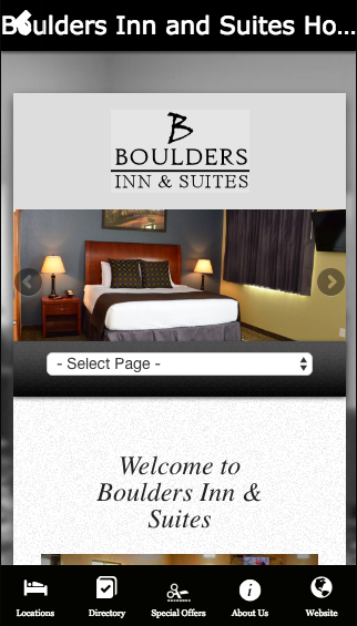 Boulders Inn and Suites Hotel- screenshot