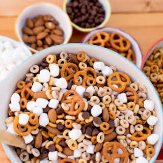 Gluten Free Cheerios Trail Mix.