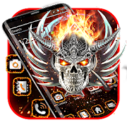 Fire angel skull theme