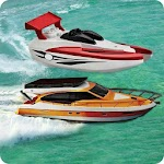 Water Games : Power Boat Racing 2017 Icon